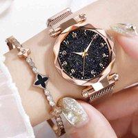 Дизайнер Роскошный Бренд Часы Женщины ES Магнитное Звездное небо Женские Часы Кварцевые Запястья Мода Дамы Запястье Reloj Mujer Relogio Feminino