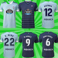 2021 RC CELTA دي فيغو لكرة القدم الفانيلة Denis Suárez Camiseta Futbol Iago Aspas S.Mina كرة القدم قميص الرجال + أطفال البدلة مجموعة
