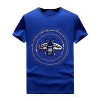 Hombre para mujer Rhinestone camisetas Vintage - Summer Casual Tops Camisas de manga corta con diseños Profesional Unisex, Azul