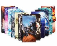 Cartoon Wallet Flip Leather cases for Samsung A52 A72 A32 A42 A12 S21 PLUS 5G A02S NOTE20 Butterfly Flower Tiger cat Strap Stand covers