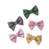 Girls Hair Accessories Hairclips Kids Barrettes Baby BB Clip Bows Childrens Hairpin Cute Accessory B8511