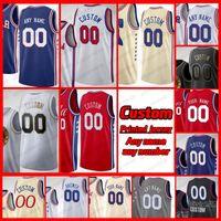 Erkek Özel Baskılı Basketbol Formaları Dwight 39 Howard 31 Seth Köri 1 Mike Scott 22 Matisse Thybulle 0 Tyrese Maxey 30 Furkan Korkmaz Jersey