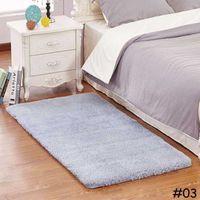 Carpets 50*80cm 60*160cm Carpet Bath Suede Non-slip Mat Bathroom Rugs Plush Memory Velvet Mats Dust Doormat Absorbent Floor Rug IOKY