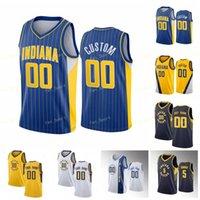 Şehir Kazanılan Baskı Özel Baskılı Malcolm 7 Brogdon Domantas 11 Sabonis T.J. 1 Warren Caris 22 Levert Doug 20 McDermott Basketbol Formaları Erkek Kadın Çocuklar