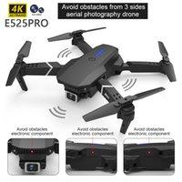 Professional 4WD e525pro RC, 2021, dual camera 1080p, 4K, fixed height, mini toy helicopter vs E88