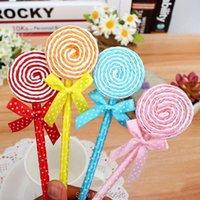 Party Favor 12pcs lot Lollipop Ball Pen Souvenirs Birthday Baby Shower Gift Happy Decoration Kids Event Supplies