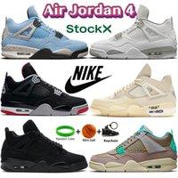 عالية الهواء الأردن 4 4 ثانية أحذية كرة السلة jumpman الأبيض أوريو الأسود القط جامعة الأزرق bed المدربين نقية المال المعدنية الأرجواني البرتقالي الصنوبر الأخضر الرجال النساء أحذية رياضية