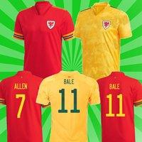 2021 ويلز المنتخب الوطني لكرة القدم الفانيلة Euro Cup Cymru الرئيسية Bale James Ramsey Jersey Men Kids Kits Mailleot De Football Shirts Camisetas موحد