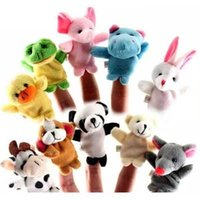 Finger Puppets Finger Animals Toys Cute Cartoon Children's Toy Stuffed Animals Toys wholesale