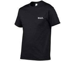 Новый Balr Designer T Рубашки Хип-хоп Мужская Дизайнер T Рубашки Мода Бренд Мужская Женская Короткая Рукав Большой Размер T Рубашки