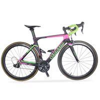Aero Carbon Frame Pull Road Bike R8050 Di2 Group Комструкция Комплектное велосипед 52 / 56см Размер 700 * 25C Шина из Китая Велосипеда