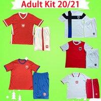 طقم أطفال بولندا 2020 2021 قميص كرة قدم تشيكي 20 21 MILIK LEWANDOWSKI PISZCZEK KRMENCIK DARIDA KREJCI قميص بدلة كرة قدم للأطفال