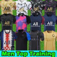 20 21 جيرسي دعوى تدريب Verratti 2020 2021 دي ماريا كين لكرة القدم قمصان Mbappe Soccer Trippuit