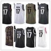 Пользовательские 2020 ступицы серого стиля черно-белый зеленый серый серыйДжерси Дэвис Баскетбол