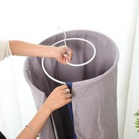 Laundry Bags Clothing Hanger Drying Rack Spiral Space Saving Round For Bed Sheet Quilt Mattress Cover Blanket Outside Balcony