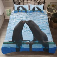 Bedding Sets 2 3 Pieces Seal Marine Life Duvet Cover 3D Print For Kids Adults Bed Quilt Covers Single Double King