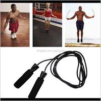 로프 베어링 스킵 코드 속도 피트니스 에어로빅 점프 운동 장비 조정 가능한 권투 스포츠 점프 로프 APUQG 5R9DV