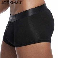 Мужское нижнее белье Jockmail сексуальный боксер сплошные боксерские модальные мягкие шорты мужские стволы Cuecas гей мужские трусики трусики