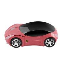 MICE CHUYI MINI MOUSE INALÁMBRICO Forma de automóvil Mouse 2.4G 1200DPI 3D Lindo con el receptor USB Regalo de juego para PC Laptop Kids Notebook