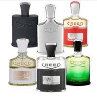 Top Venta Creed Aventus Perfume Men Colonia Negro Creds Irish Tweed Green Millesime 120ml con alta Guality Fast Free Ship