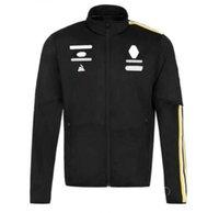 2021 Formula One Racing Costume Joint Voiture Logo Team Costume F1 Custom Zipper Mâle et féminin Ventilateurs de voiture Casual Sports Plus Velvet Ventilation