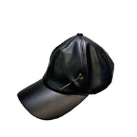 Fashion Bucket Latest leather embroidery baseball caps Fitted beanie sport Hats for women Men fisherman winter hat unisex cotton gift icon hop golf cap box dust bag