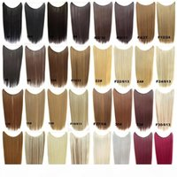 Certificated brazilian halo Flip in halo human Hair Extensions halo 1pc 100G Easy Fish Line Hair Weaving Wholesale Price