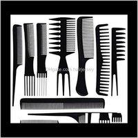 Brosses Soins Outils Produits Drop Drop Livraison 2021 10pcs / Set Stylistes Configurez un peigne de coiffage professionnel Great Pack super pour tous les types de cheveux style