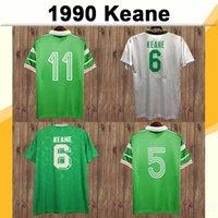 1988 1994 Retro Roy Keane Horton Mens Soccer Jerseys 1990 Irlanda National Team Home Away Camicie da calcio Manica corta Adult Uniformi adulti