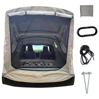 Tents And Shelters Car Trunk Tent SUV Universal Self-Driving Tail Extension Outdoor Camping Rain Sun Shade Awning