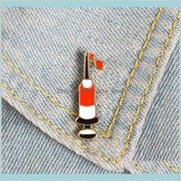 Épingles seringues émail ding sangroche sur mesure Broches sac vêtements broche broche broches badges médicaux bijoux cadeau hématologie médecin goutte livraison