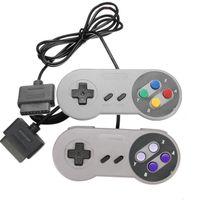 16 Bit Controller per Nintendo SNES Gamepad SNES System Console Controller Gaming Joystick per Nintendo SNES Game Pad