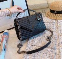 أكياس crossbody جودة عالية Y مصمم الأزياء الفاخرة المرأة حقيبة يد جلدية السيدات حقيبة يد الكتف حقائب 2021 حقيبة سلسلة القابض مع قفل المحفظة