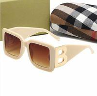 패션 B-Letter Designer 4312 여성과 남성용 선글라스 전체 프레임 스타일 안경 안경 Goggle 그늘 안경 안경