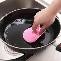 Panno per piatto multifunzione in silicone in silicone spazzole per lavastoviglie per la cucina decontaminazione non oleosa abbigliamento per flagranti spazzola spazzola piatti pentola pulizia