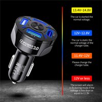 4 Ports USB Car Charge 48W Quick 7A Mini Fast Charging For Mobile Phone Charger Adapter in Car
