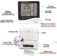 휴대용 디지털 LCD 실내 편리한 온도 센서 습도계 온도계 습도계 게이지 EWD9698