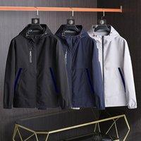 Fashion Mens Jacket Spring Autumn Outwear Windbreaker Zipper Double faced clothes Jackets Coat Outside Sport Euro Size Men's Clothing 1 2 3 4