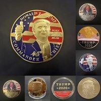 Trump Commemorative Coins Artigianato 2020 Presidente Trump Iron Coins Gift Metal President President Trump's Lucky Coin Arts
