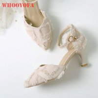 Dress Shoes 2021 Summer Brand Fashion Beige Black Women Sandals Sexy 2 Inch Med Heel Lady Plus Big Small Size 31 11 43 47