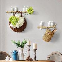 Resin Bird Hanger Wall Decoration Home Accessories Living Room Key Kitchen Coat Clothes Towel Hook Hat Handbag Rack Hooks & Rails