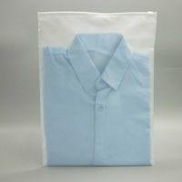 100X Zip Block Zipper Top Sacchetti di plastica smerigliati per abbigliamento, T-shirt, Gonna Packaging Retail Bag Stampa di storage personalizzata stampa Y0712