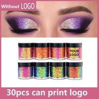 Özel Etiket Glitter Göz Farı Kremi Yüksek Pigment Tek Bukalemun Makyaj Göz Farı Pigmentleri Özel Logo