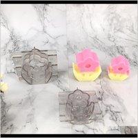 Bougies en plastique de fleurs faisant des sources de moules de moules transparentes bricolage artisanat EY5JX FO2JH