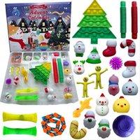 Designer keychain Brand key chain 24pcs Christmas Fidget Toy Squid game Blind Box Party Advent Calendar for Girls Boys Kids Adults Surprise