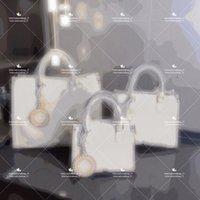 2021 kadın moda yüksek kalite kademeli değişim tasarımcı çanta tam deri çanta tote büyük çift yönlü baskı kapasitesi