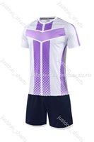 New adult Soccer Jerseys Custom blank football shirt uniform,Training Running Soccer Wears Short sleeve Running With Shorts s4