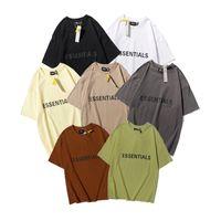 2021 Spring Summer Hommes S T-shirts Pull en coton de haute qualité avec logo de silicium Faire de la tee homme femme à manches courtes