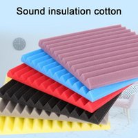 Wall Stickers 30x30x5cm Studio Acoustic Foams Panels Sound Insulation Foam Soundproofing Treatment Room Absorption Tile
