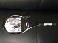 الجملة مضارب التنس سرعة الموالية المضرب مع سلسلة وحقيبة